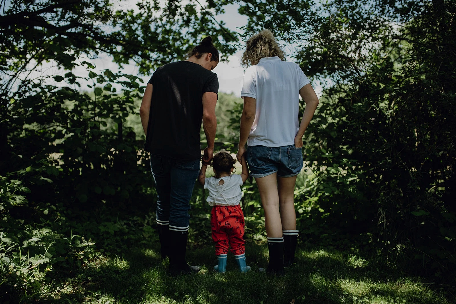 Gummistiefel Familien